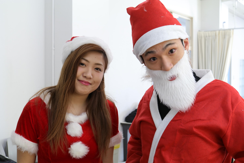 【開催終了】12月16日(土) クリスマスイベント(ネイル・メンズアレンジ)