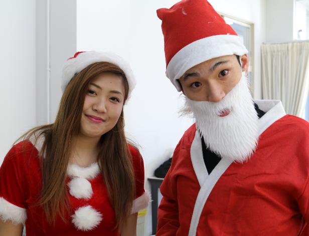 【開催終了】12月15日(土) クリスマスイベント(ネイル・メンズアレンジ)