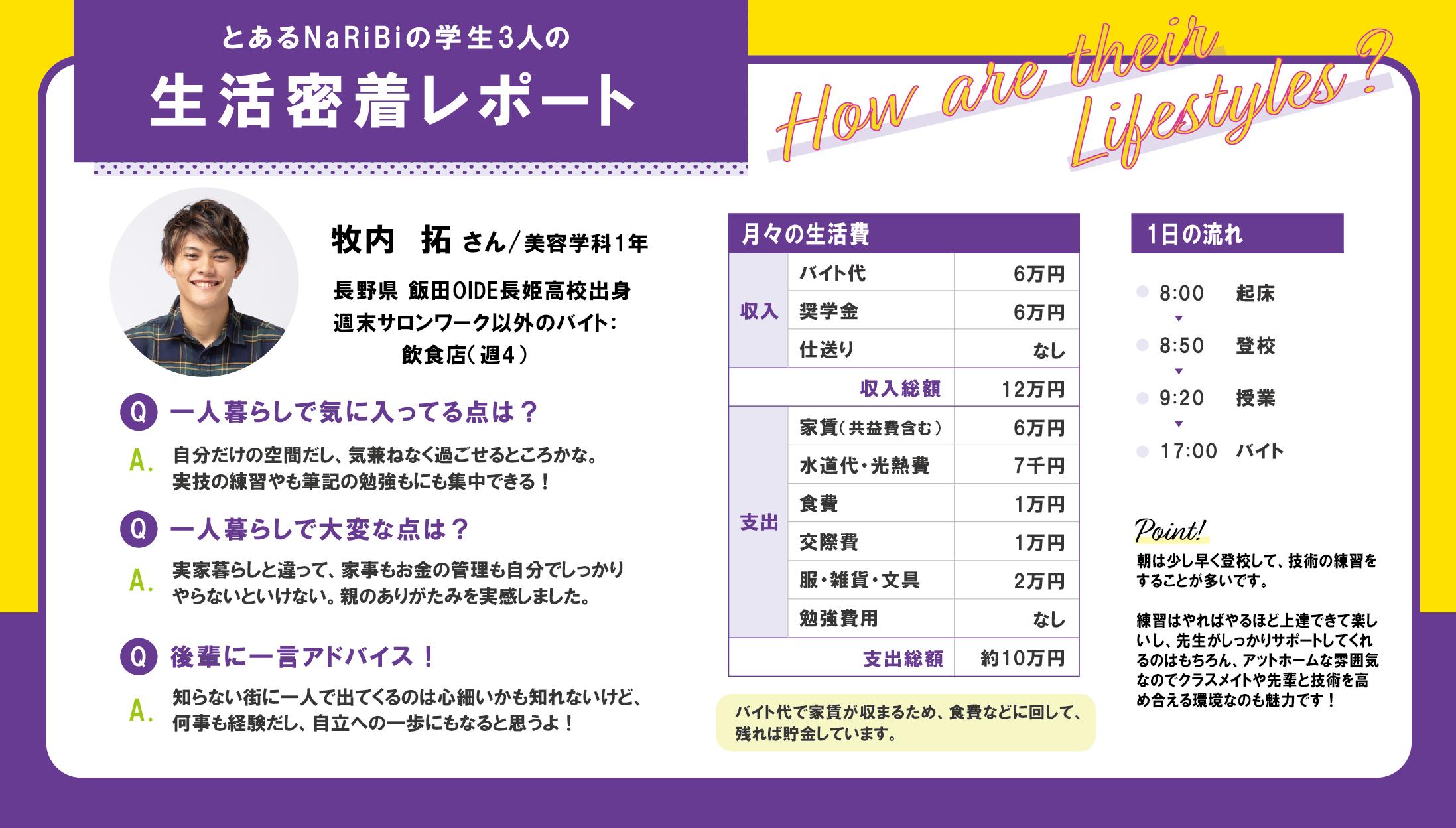NaRiBi学生 生活密着レポート part.2